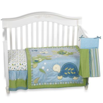 Cocalo Turtle Reef 8 Piece Crib Bedding And Accessories