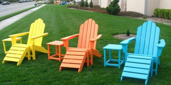 10 diy adirondack chairs that are easy