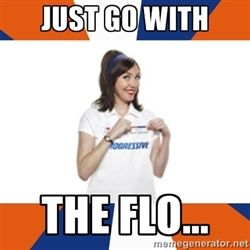 Progressive Insurance Quotes Magnificent Flo The Progressive Girl  Just Go With The Flo.quotes  Pinterest 2017