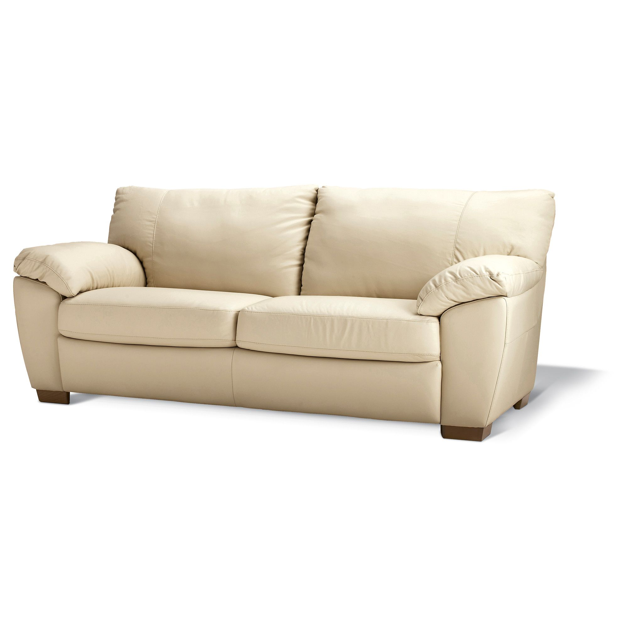 Ikea White Leather Couch Sofas: VRETA Sofa - Mjuk Ivory - IKEA