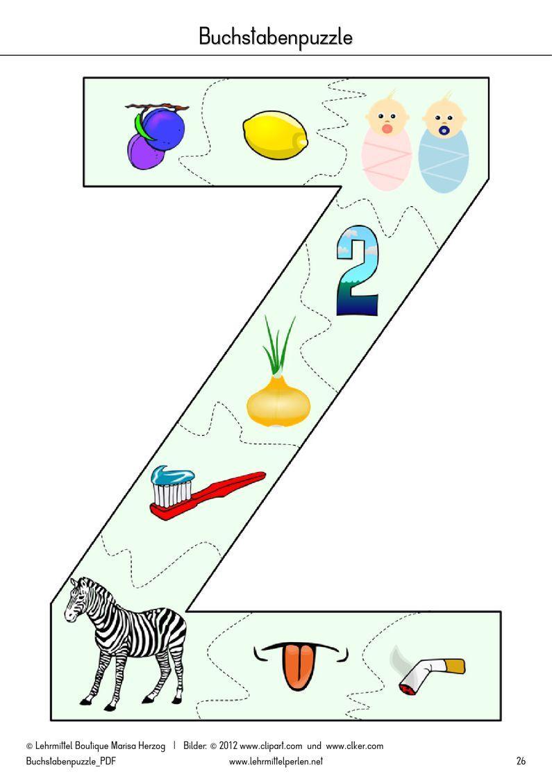Buchstaben-Puzzle | PDF to Flipbook | ALPHABET | Pinterest | Pdf ...