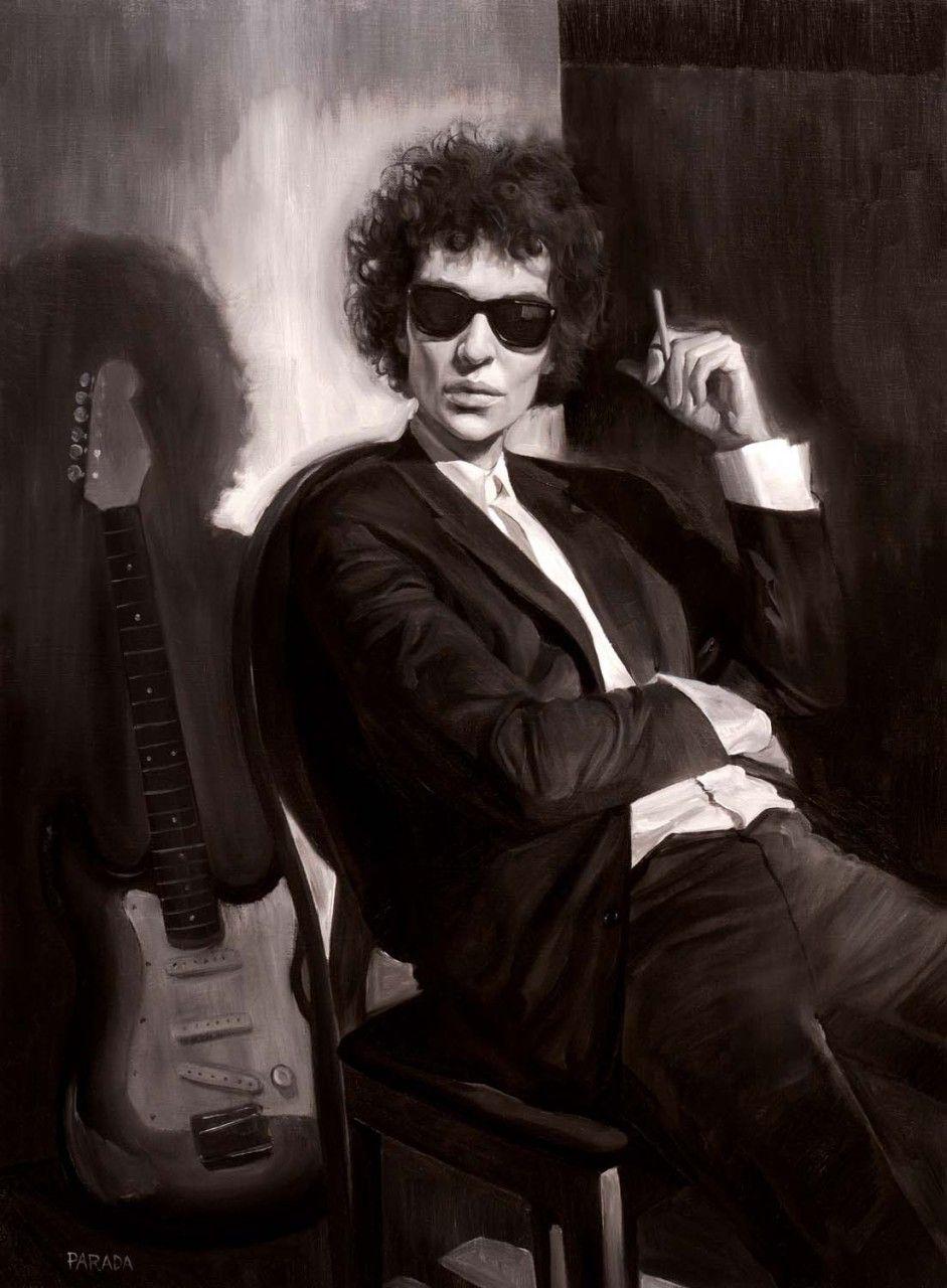 Roberto Parada Kate Blanchett as Bob Dylan Portrait