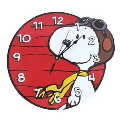 Peanuts Snoopy Flying Ace Wall