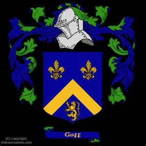 Goff Coat of Arms, Family Crest and Goff Family History
