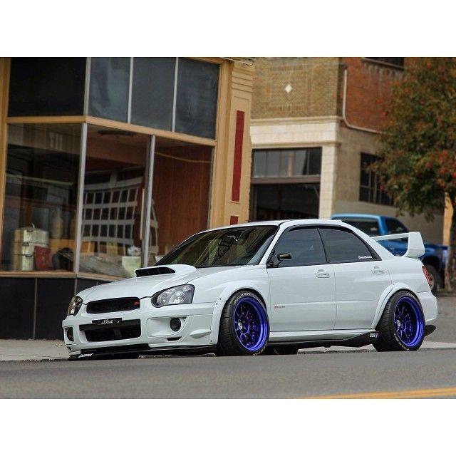 Such a badass car...#Subaru #Impreza #wrx