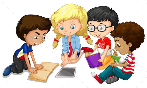 Children Doing Homework (With images) Kids clipart, Do