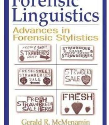Forensic Linguistics Pdf Linguistics Forensics Computational Linguistics