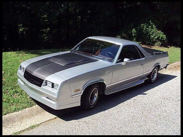 1985 Chevrolet El Camino 305 CI, Automatic presented as lot H25 at Kissimmee, FL