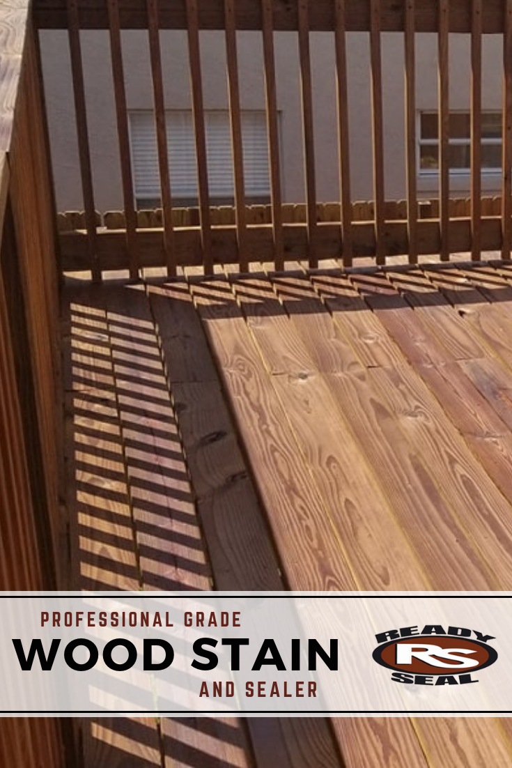 Professionals Diyers Choose Ready Seal For Its Hassle Free