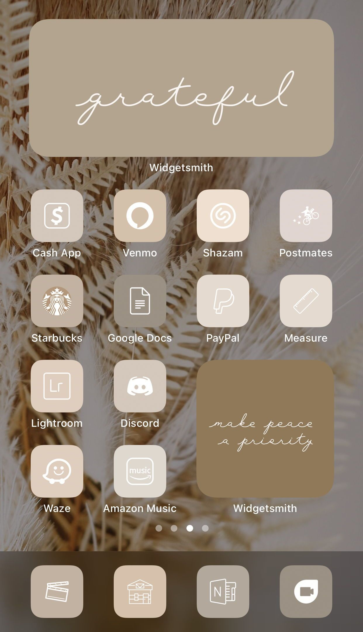 Neutral Tone Aesthetic  52 iPhone iOS 14 App Icons  iOS14 | Etsy