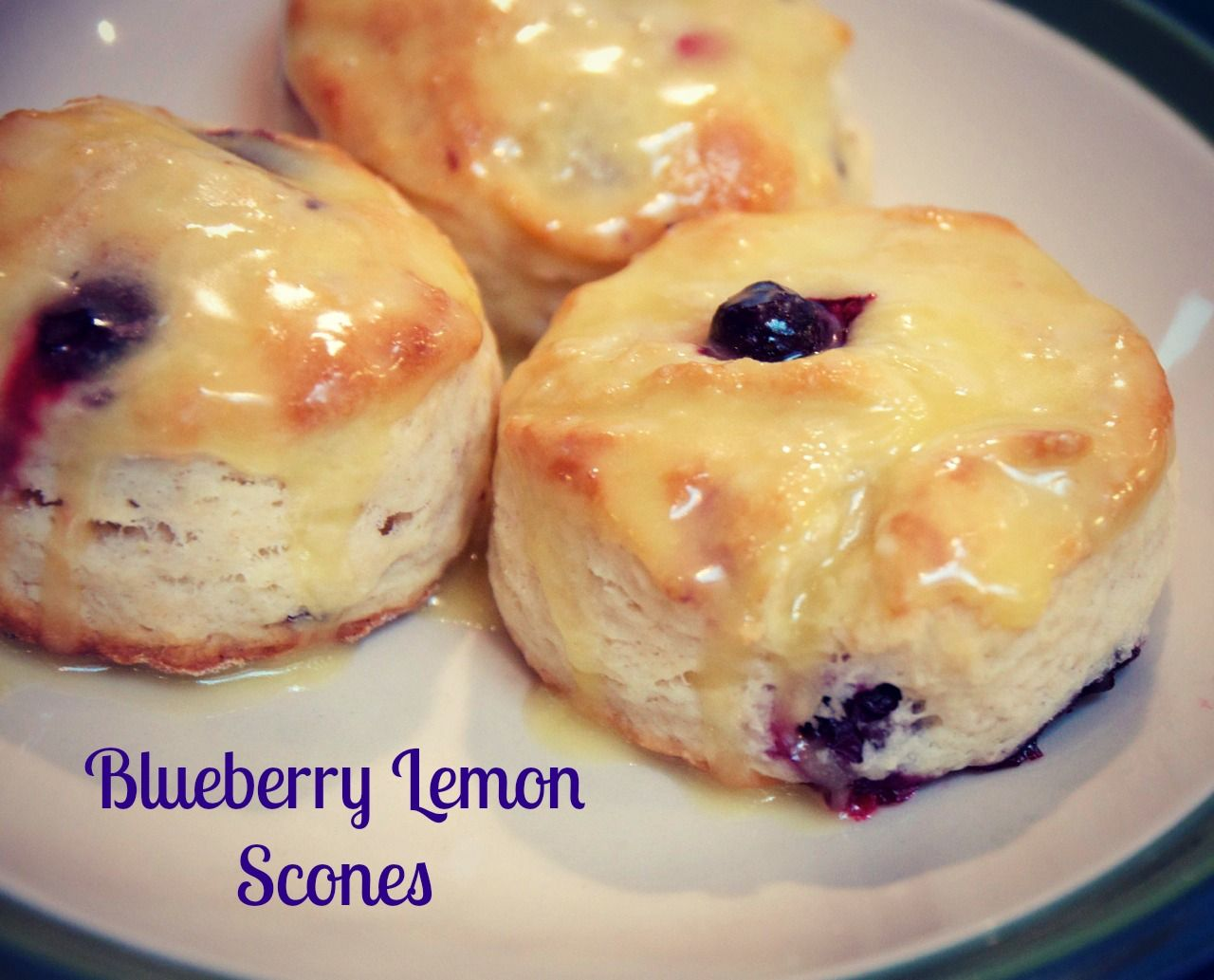 Blueberry Lemon Scones - one of my favorite scone recipes