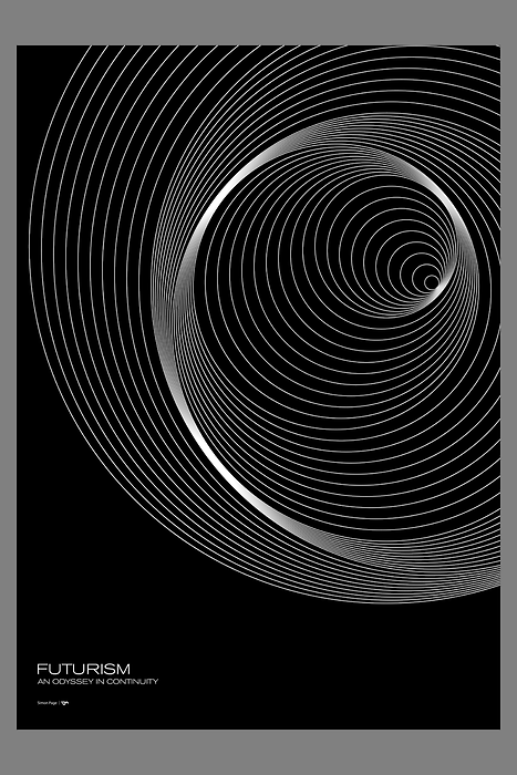 Orbits  From the Futurism series, Orbits available through Society6.
