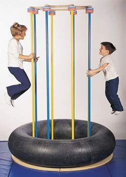 Jump and play island from Southpaw Enterprises. $725...Looks like we could make this.
