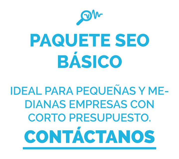 Paquete SEO Básico  Ideal para pequeñas y medianas empresas con corto presupuesto - Contáctanos