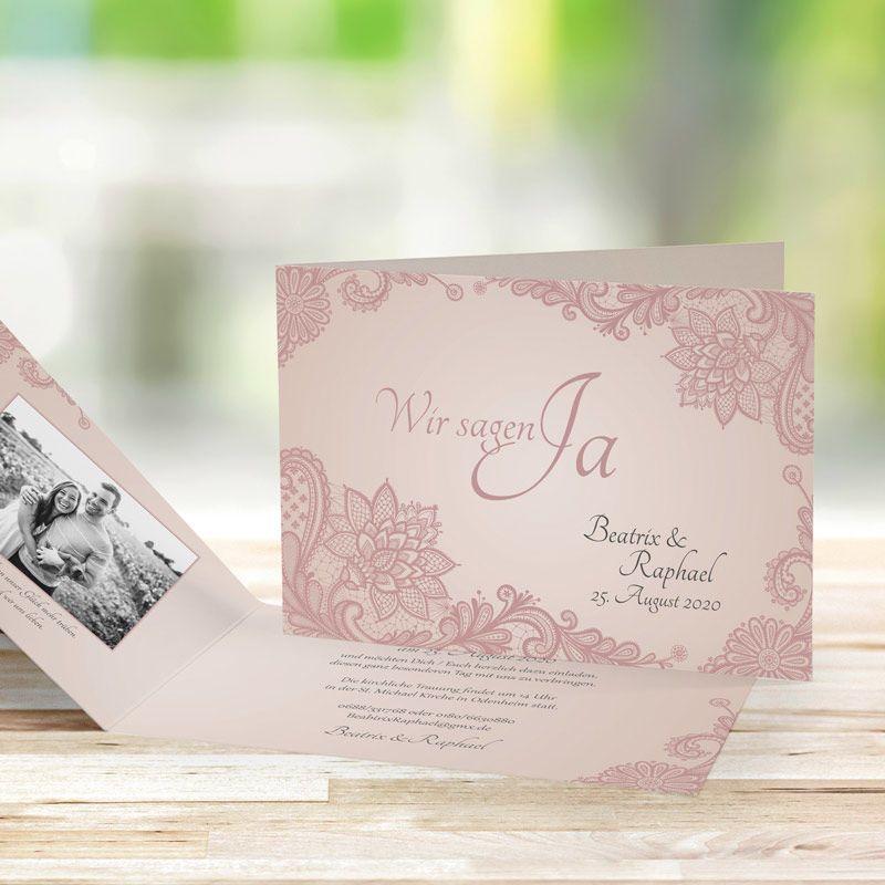 Einladungskarte Hochzeit Wonderful Rosa Einladungskarten Hochzeit Karte Hochzeit Einladung Hochzeit Vintage