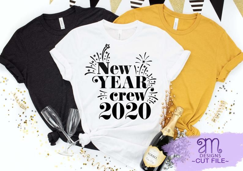 New Year Crew SVG, New Year Crew, 2020, New Year Crew 2020