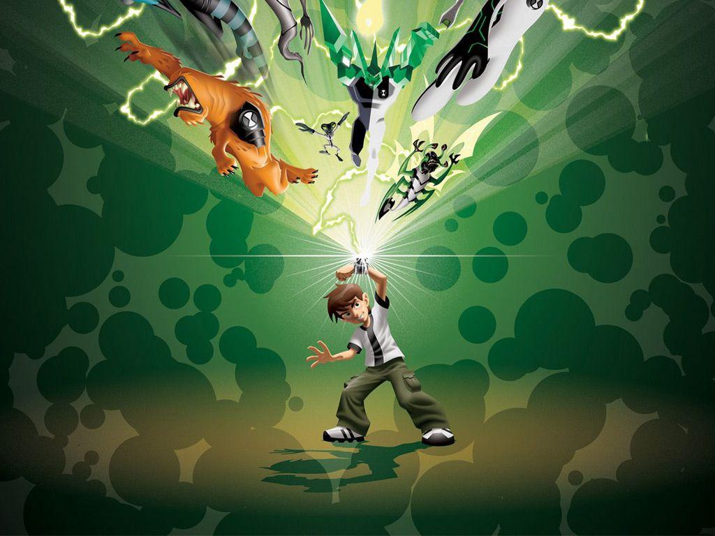 Green Ben 10 Wallpaper Ben 10 Alien Force Ben 10 Anime Wallpaper