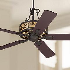 60 John Timberland Natural Mica Iron Led Ceiling Fan 64m89 Lamps Plus In 2020 Rustic Ceiling Fan Led Ceiling Fan Ceiling Fan