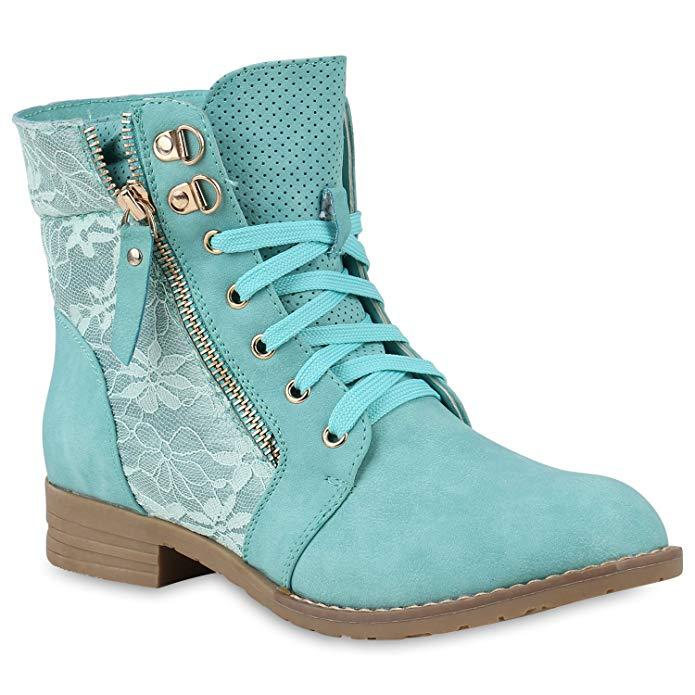 Frauen Tops : rieker Boots SCHWARZ, Innenmaterial Textil