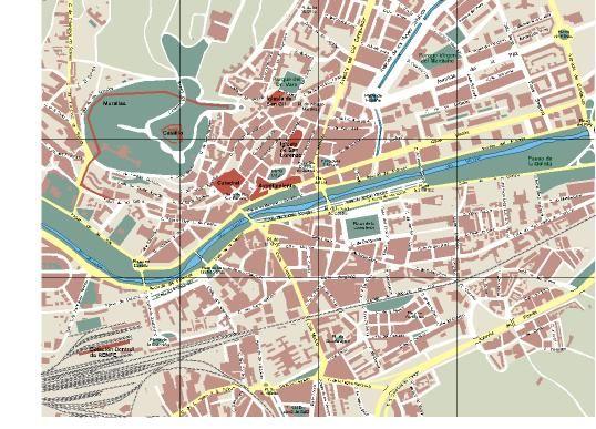 Mapa De Burgos Ciudad.Burgos Mapas Mapas Del Mundo Y Salamanca