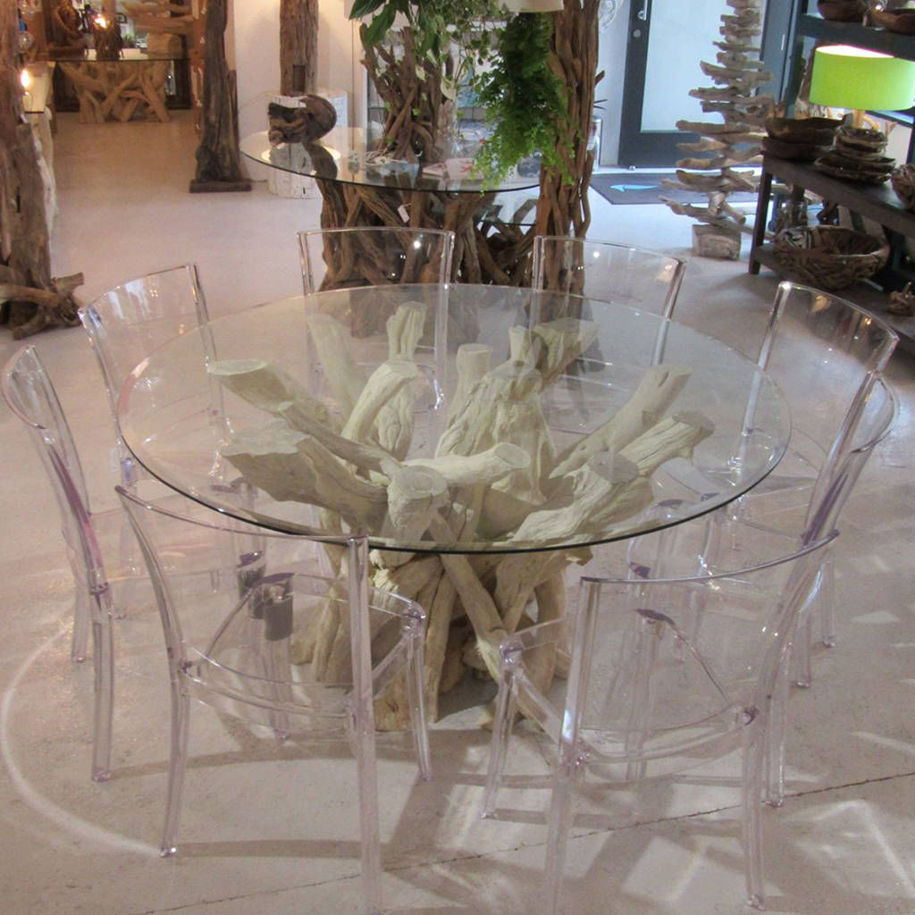 Driftwood Round Dining Table Base Driftwood Dining Table Dining Table Bases Round Dining Table