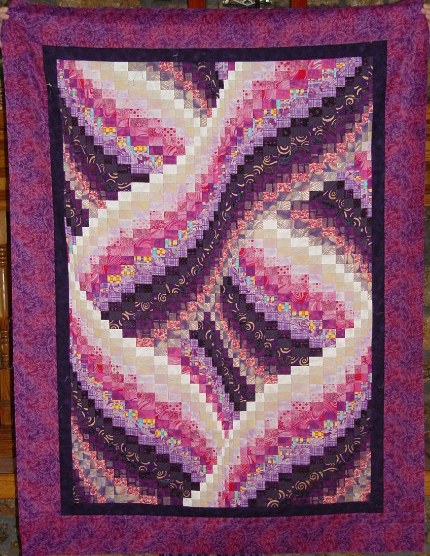Twisted Bargello Quilt Pattern Free Simple Ideas