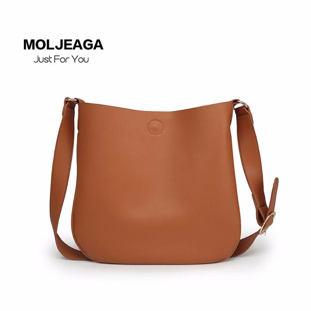9655b3cd8fe1 MOLJEAGA Tassel Women Bag Leather Handbags Cross Body Shoulder Bags Fashion Messenger  Bag Women Saddle Handbag
