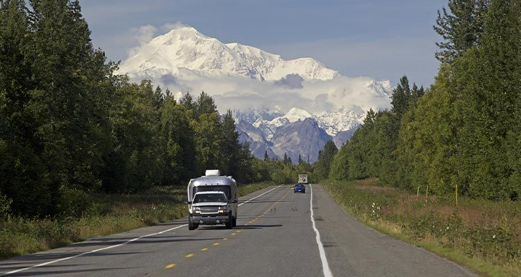 Driving in alaska rental cars getting around tips for