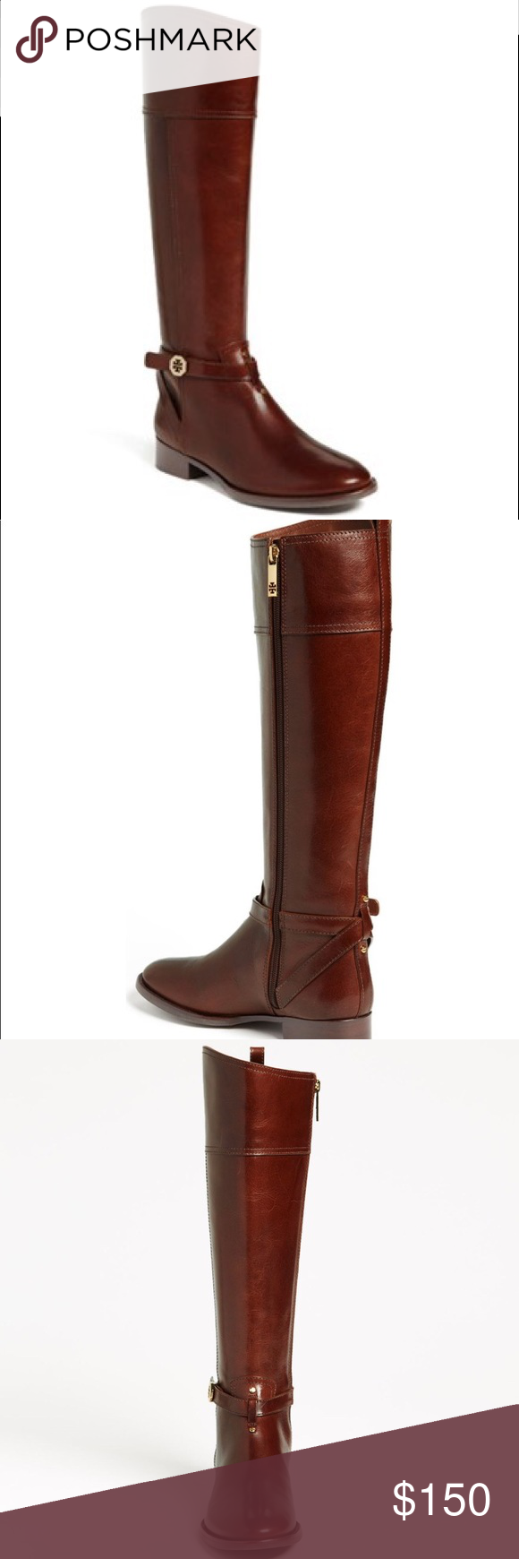0e10cae81042 Tory Burch Brita Riding Boot Brown Email with questions! Tory Burch Shoes  Winter   Rain