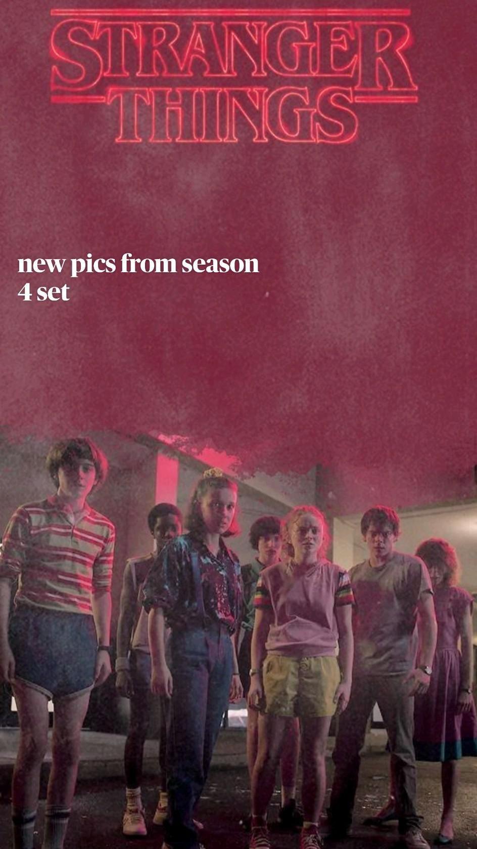 new pics from season 4 set