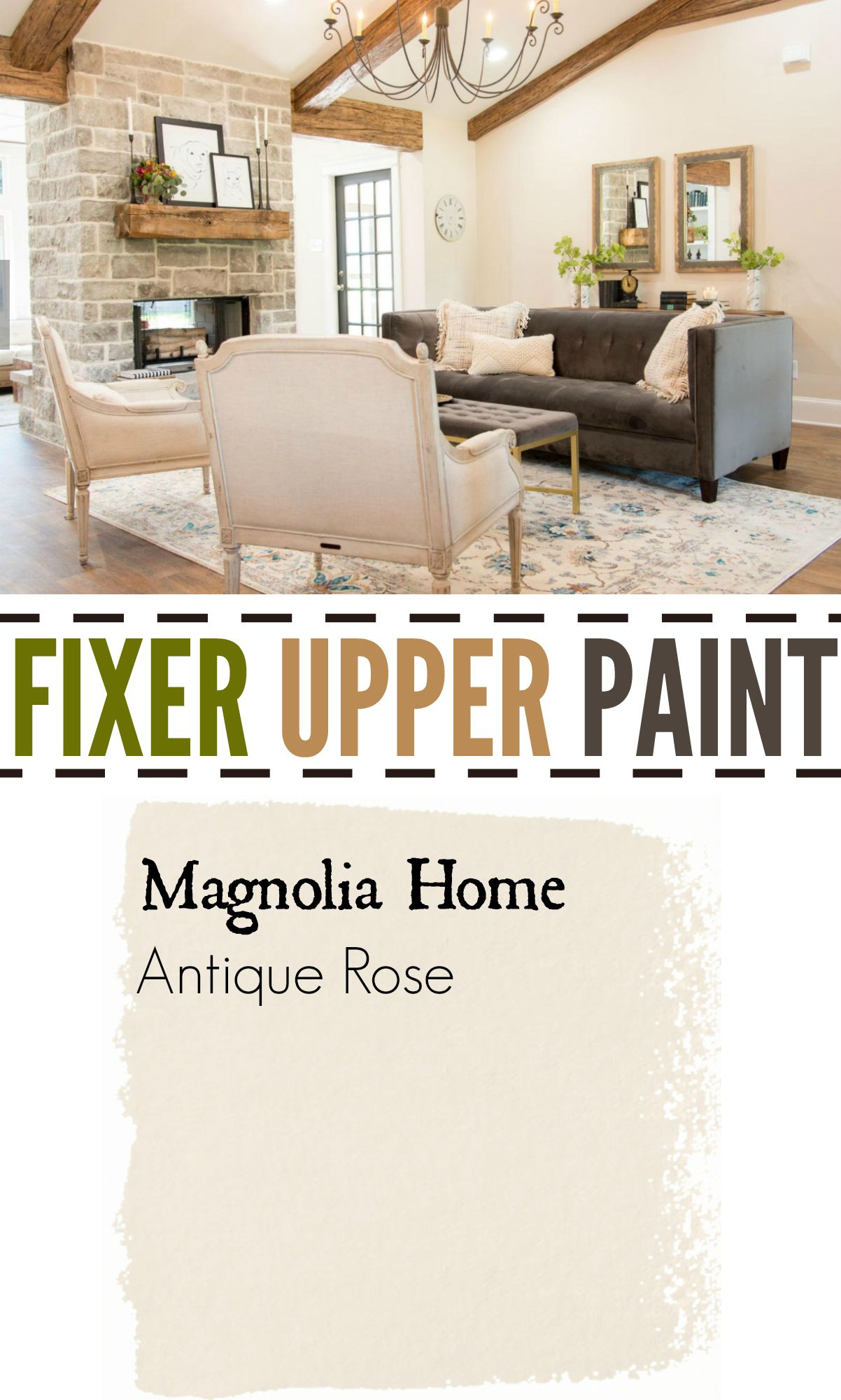 Fixer Upper Season Four Paint Colors Best Matches For Your Home The Weathered Fox Living Room Color Living Room Paint Paint Colors For Living Room