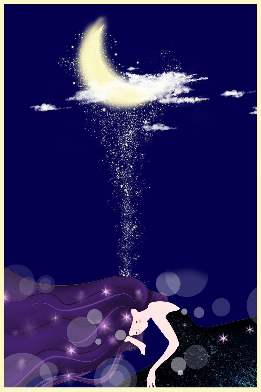Azul Oscuro Buenas Noches Dibujos Animados Luna Buenas Noches Luna Buenas Noches Cartelitos De Buenas Noches