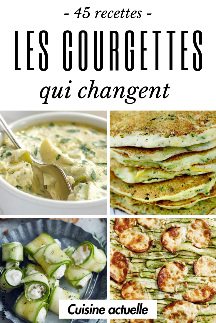 Photo of 45 recipes that change with zucchini