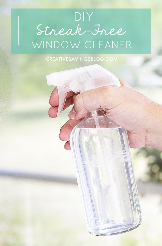 Diy Streak Free Window Cleaner Recipe Window Cleaner Window