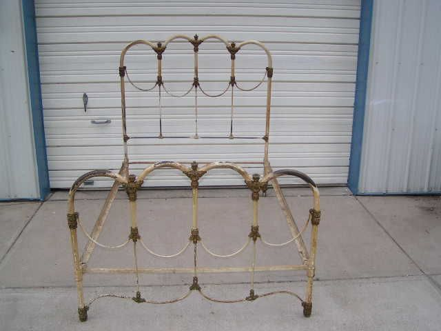 Antique Iron Beds By Cathouse Beds Iron Headboard Antique Iron