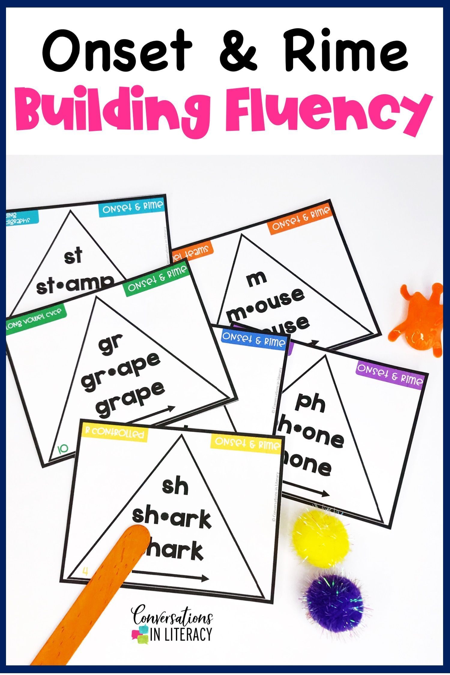 Onset And Rime Building Word Fluency Activities Bundle In