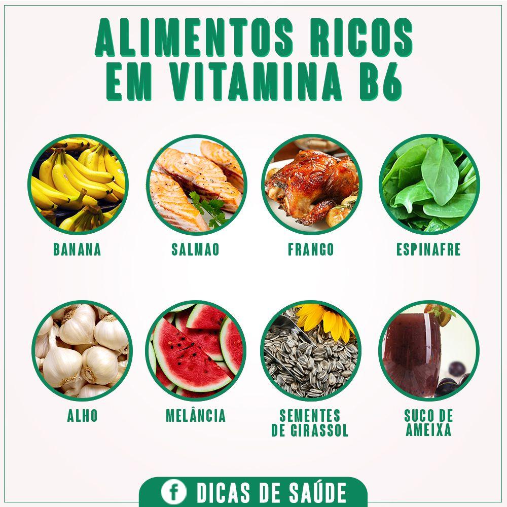 alimentos ricos em vitamina b5 e b6