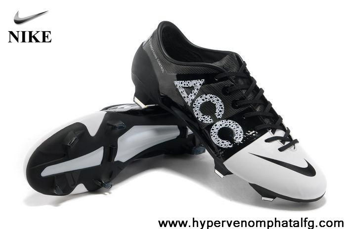 Buy Discount FG Football - White Black Nike GS II ACC FG Football Boots On Sale