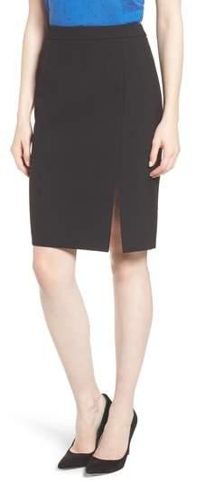 21d6822a23 BOSS Volania Ponte Pencil Slit Skirt | اسكيرت تنوره | Skirts, Slit ...