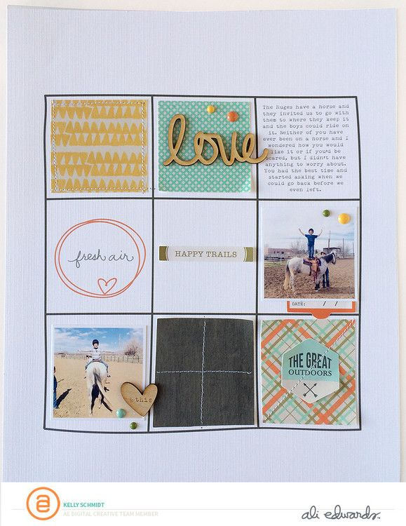 Story Frames | Schmidt, Scrapbooks and Ali edwards