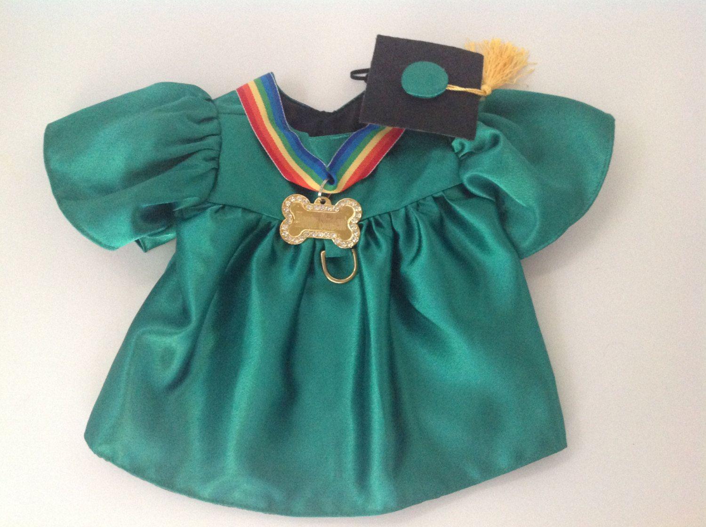 Dog Graduation Cap & Gown Therapy Dog Graduation Cap Graduation Gown ...