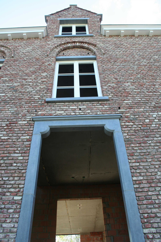 Dubbel deur in hout pastorijstijl .uitvoering weldimo ...