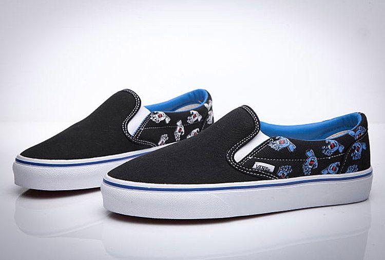 Jim Philipsde x Santa Cruz x Vans Slip On Screaming Hand Black Skate Shoes   Vans 149eb52fb