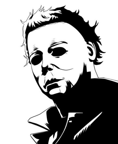 Inktober Day 19 Michael Myers Film Movies Horror Horror Movie Tattoos Horror Movie Art Horror Artwork