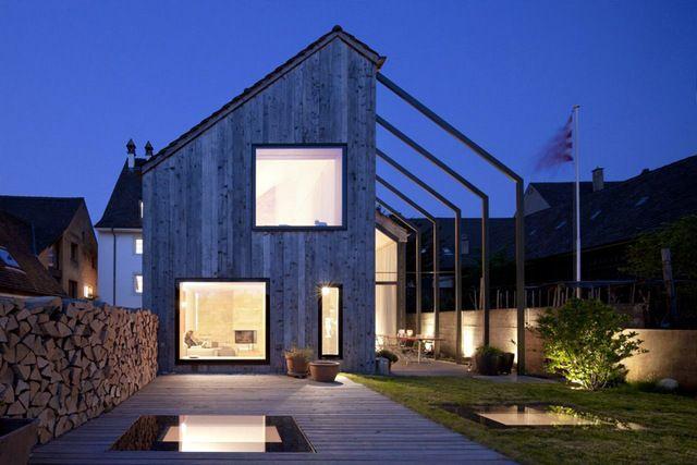 La rénovation et l\'extension d\'une ferme | Extensions, Architecture ...