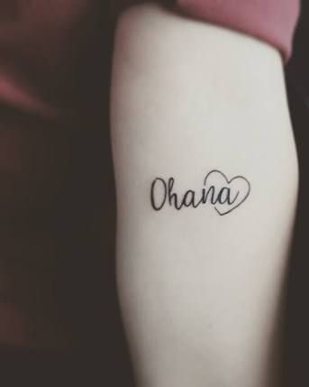 Resultado de imagem para tattoo ohana