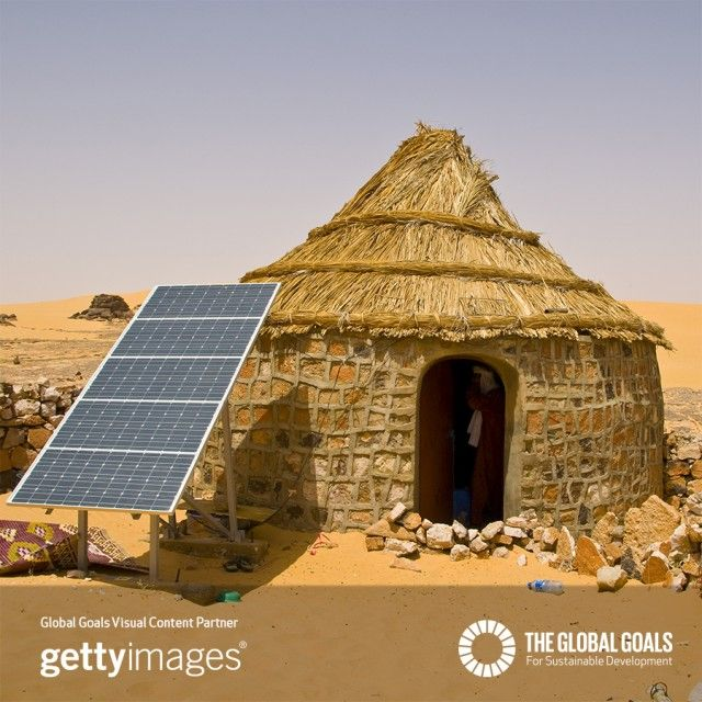 Goal 7 Affordable Clean Energy The Global Goals Solar Panels Traditional House Solar