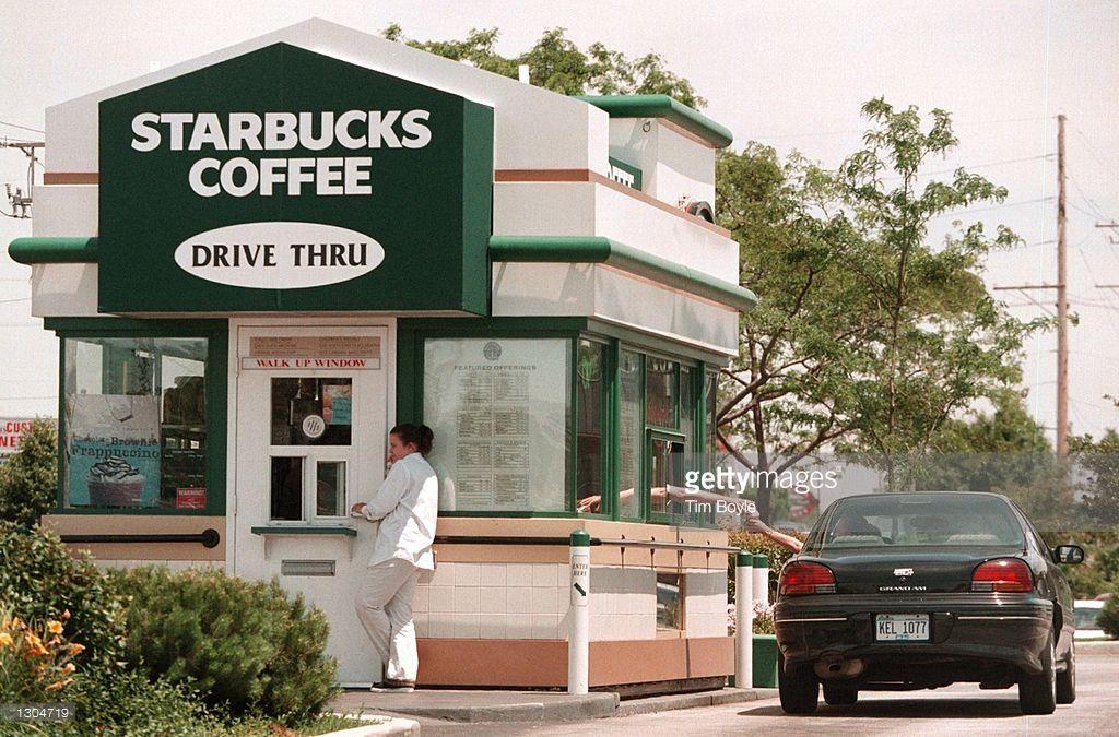 DriveThrough and WalkUp Starbucks Shop in Illinois