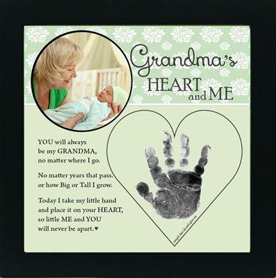 Personalized Grandma Gift for Mother's Day! She will love their adorable little handprints