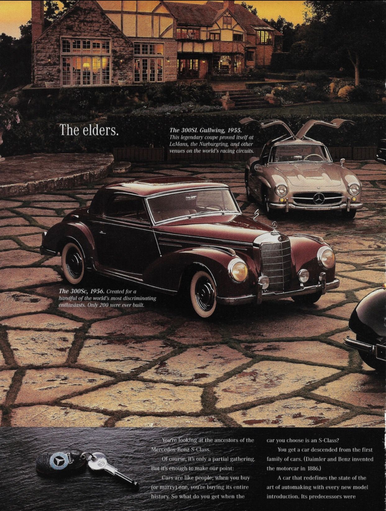 """1996 Mercedes-Benz """"S"""" class ~ USA, page TWO of F-O-U-R by Michael ..."""